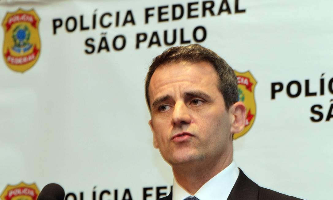 Superintendente da Polícia Federal em São Paulo dá detalhes da Operação Porto Seguro Foto: Agência Estado