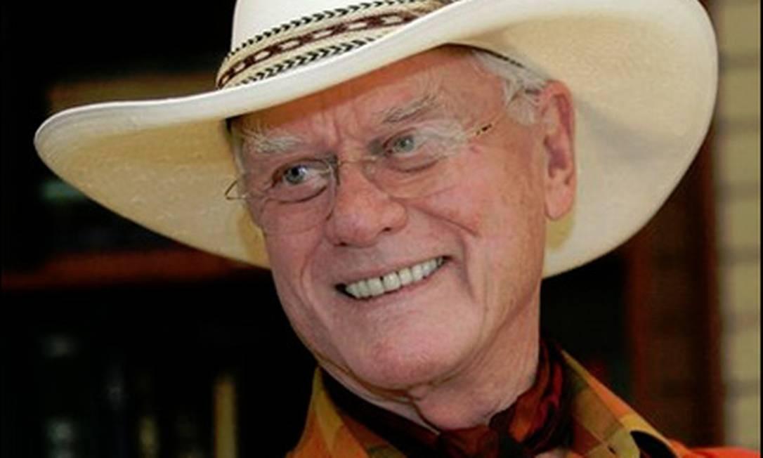 Larry Hagman, ator de 'Dallas' Foto: Reprodução
