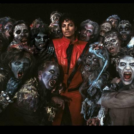 Michael no clipe da música 'Thriller' Foto: Divulgação