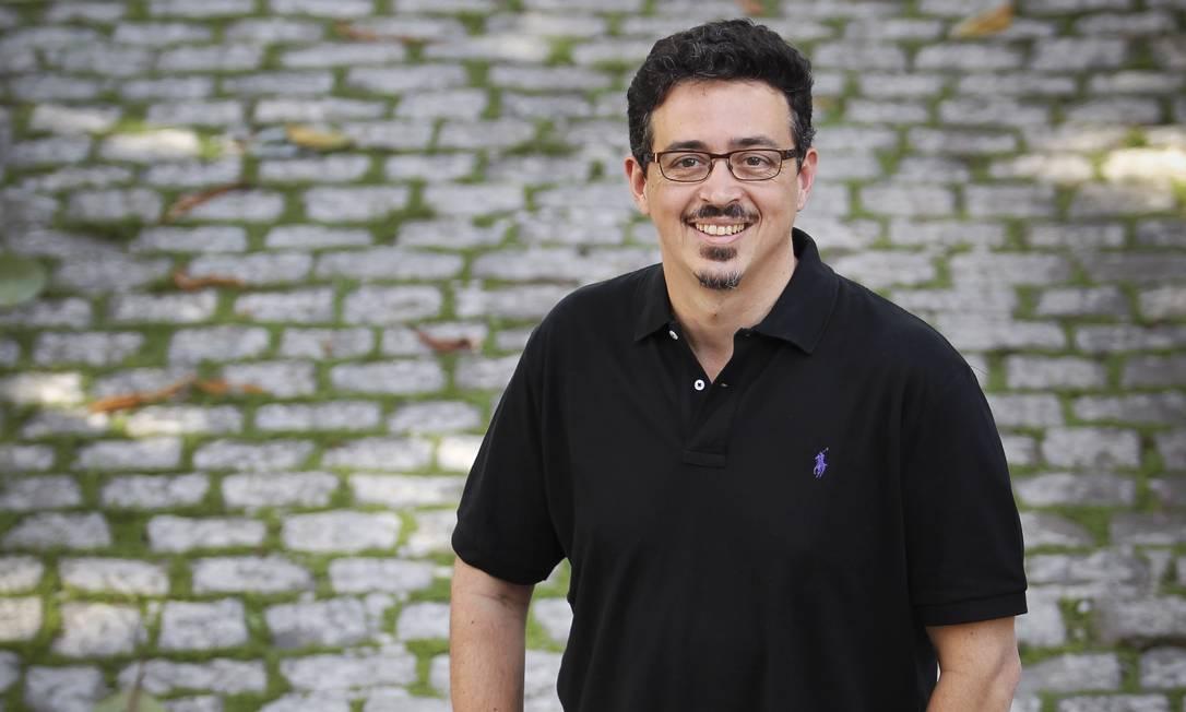 Sergio Sá Leitão irá acumular a presidência da RioFilme, onde está desde 2008, com a secretaria Foto: Alexandre Cassiano