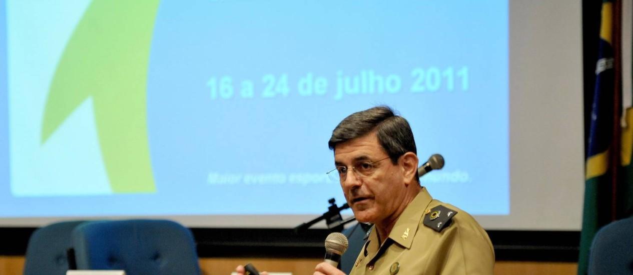 Megid. General foi questionado por gastos Foto: Paulo Mumia / Divulgação