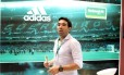 Deco no estande do Fluminense na Soccerex