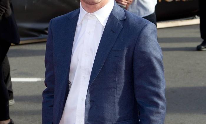 Elijah Wood, o Frodo Bolseiro, também esteve na pré-estreia Marty Melville / AFP Photo