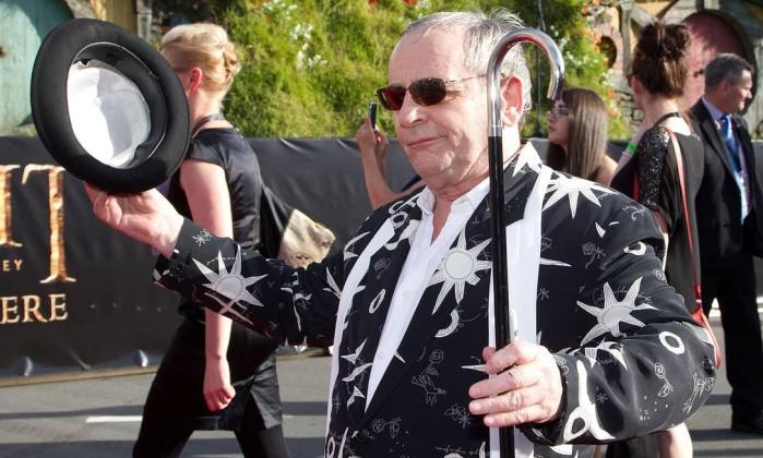 Sylvester McCoy, que faz o mago Radagast Marty Melville / AFP Photo
