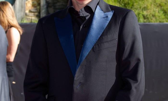 Royd Tolkien foi a premiere representando a família do criador da Terra-Média. Royd é bisneto de J.R.R. Tolkien Marty Melville / AFP Photo