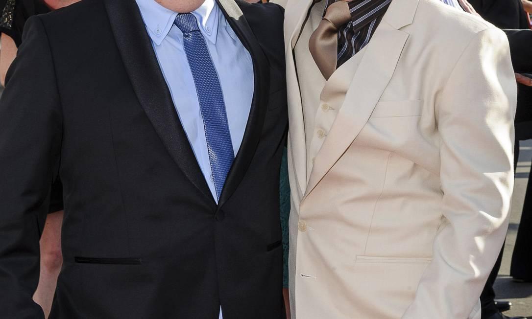 Stephen Hunter e William Kircher, os anões Bombur e Bifur Mark Coote / Reuters