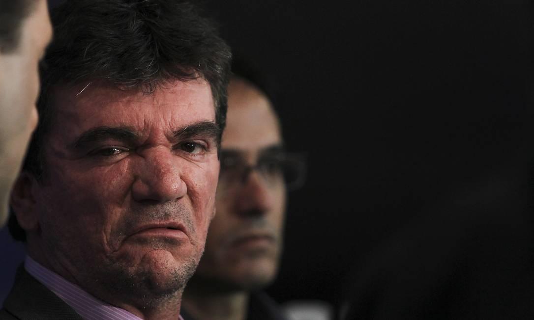 Andrés Sanchez entregou nesta quarta-feira o cargo de diretor de seleções Foto: Alexandre Cassiano / O Globo