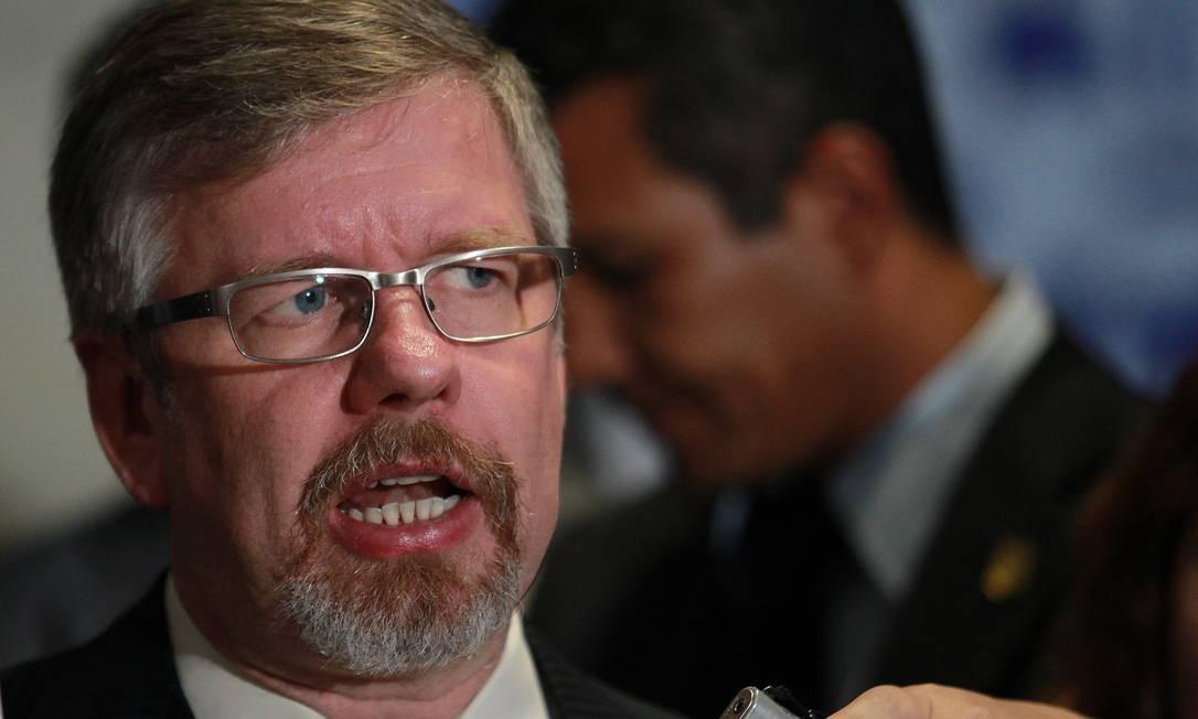 O presidente da Câmara dos Deputados, Marco Maia (PT-RS) Foto: Aílton de Freitas / O Globo