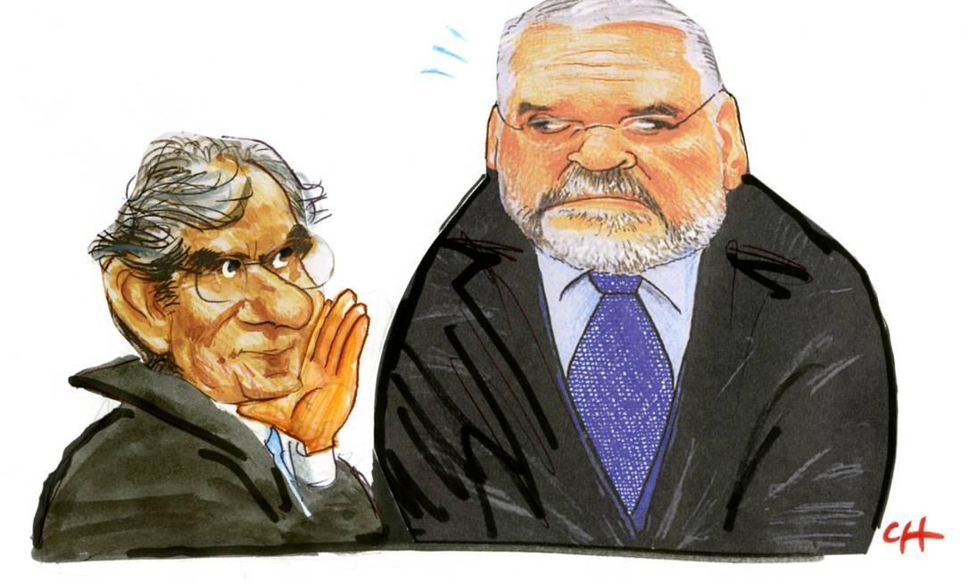 Entreouvido no supremo: - Procura, procurador, procura! Foto: Chico Caruso
