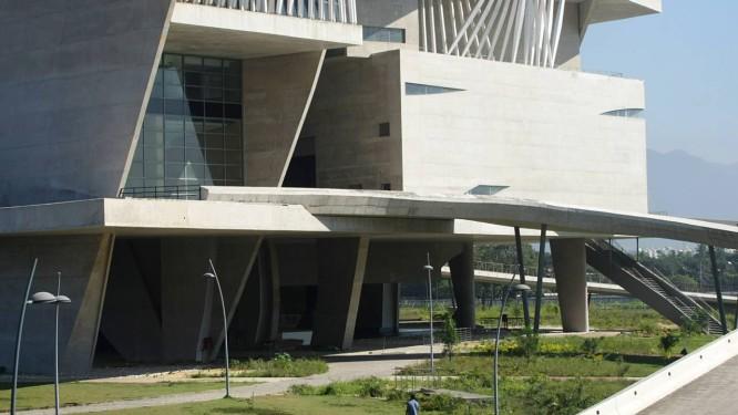 Cidade das Artes. Inauguração à vista Foto: Agência O Globo / Laura Marques
