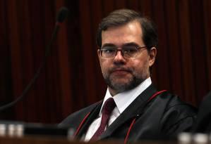 Amizade. Toffoli, do STF, conheceu Vieira em 2003; ambos trabalharam sob o comando de José Dirceu na Casa Civil Foto: O Globo / Gustavo Miranda