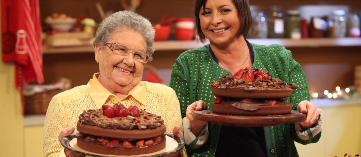 RECEITAS . As cozinheiras Palmirinha Onofre e Carla Pernambuco ensinam pratos doces e também salgados para a hora da ceia
