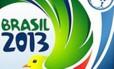 O sorteio dos grupos da Copa das Confederações será realizado neste sábado