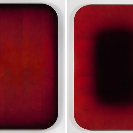 """Grande. A galeria Vermelho vai preencher o estande de 100m² com obras como """"Redburst"""", de Chiara Banfi Foto: Divulgação / Rafael Canãs"""