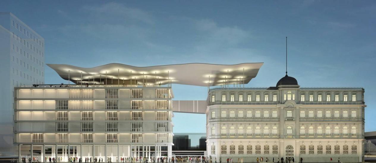 Museu de Arte do Rio: projeto do escritório Bernardes + Jacobsen une dois prédios na região do Porto e deve ser inaugurado em março de 2013 Foto: Divulgação