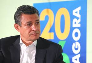 Agberto Guimarães, do CO-Rio, também esteve no seminário sobre as Olimpíadas de 2016 Foto: Ivo Gonzalez / Agência O Globo