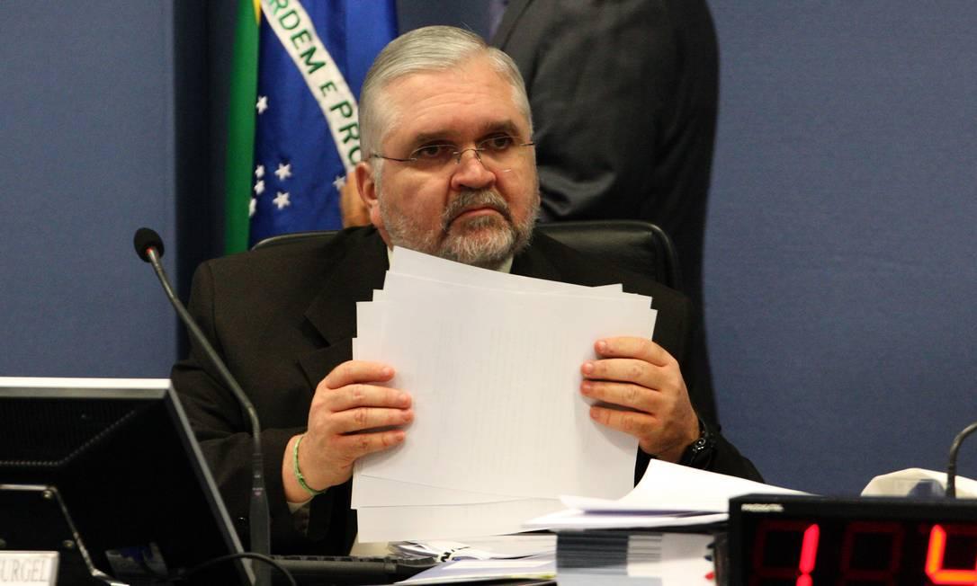 """Sem salvação. Gurgel elogiou operação: """"O sistema de Justiça atua com a necessária firmeza"""" Foto: O Globo / Givaldo Barbosa"""