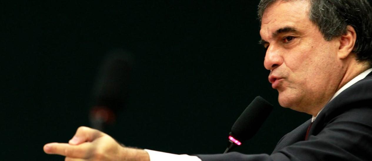 O ministro da Justiça, José Eduardo Cardozo Foto: Ailton de Feritas / O Globo