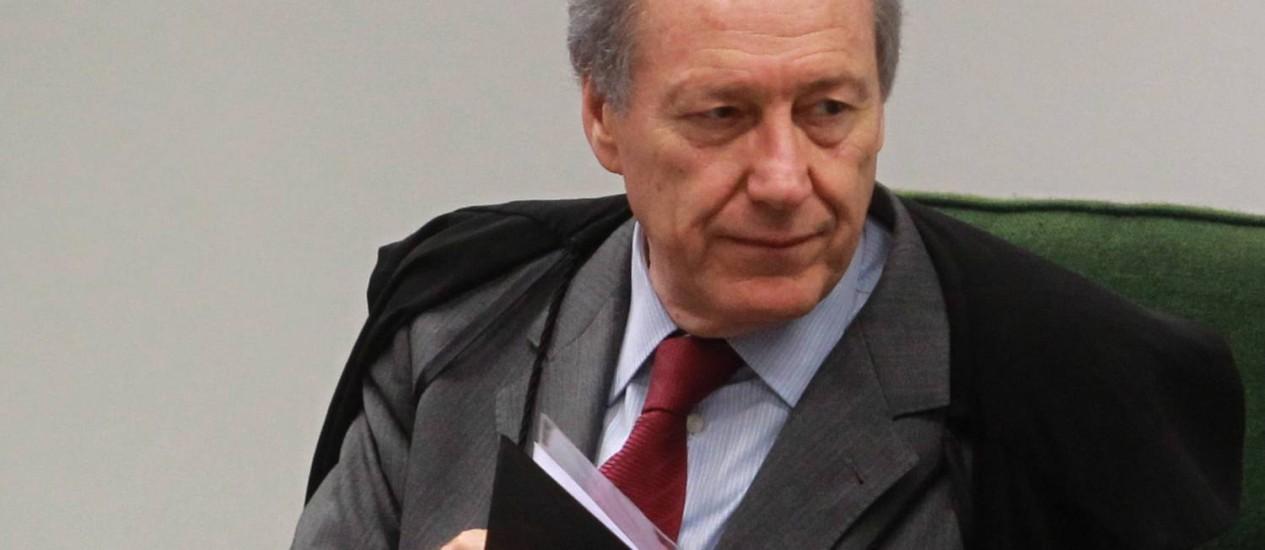 O ministro Ricardo Lewandowski, revisor do processo do mensalão Foto: Arquivo O Globo / Givaldo Barbosa