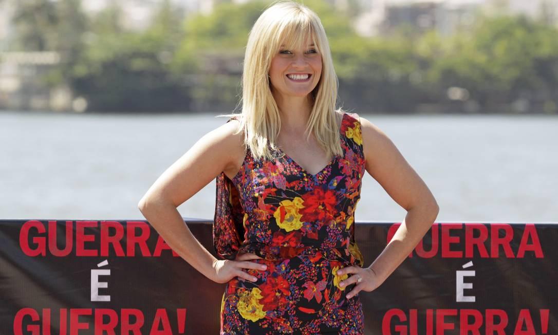 Uma das queridinhas do cinema americano, Reese Witherspoon conquistou a terceira colocação na lista por arrecadar em média US$ 3,90 por cada dólar que recebe Reuters
