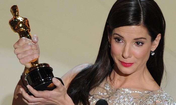 """Ganhadora do Oscar em 2010, por """"Um sonho possível"""", Sandra Bullock entrou no quarto lugar da lista deste ano Divulgação"""