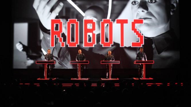 Kraftwerk no MoMA Foto: Divulgação