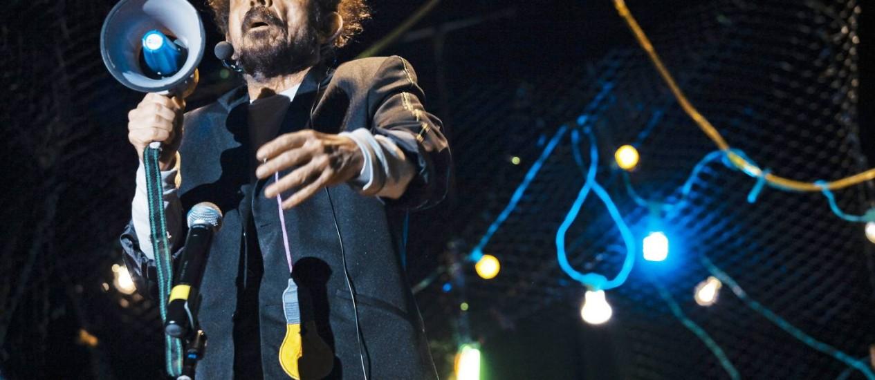 """Tom Zé: show no Oi Futuro Flamengo terá canções do disco """"Tropicália lixo lógico"""" e sucessos anteriores. """"Gosto de sobrepor camadas"""", diz o artista. Foto: Divulgação"""