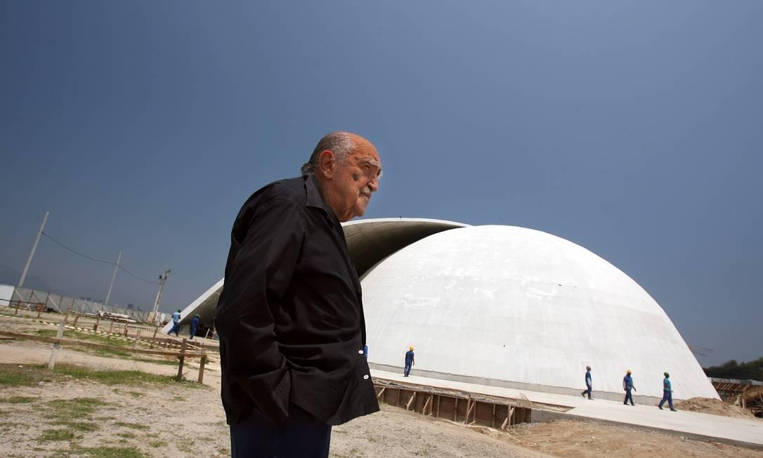 Fundação Niemeyer, em Niterói Foto: Márcia Foletto / Agência O Globo