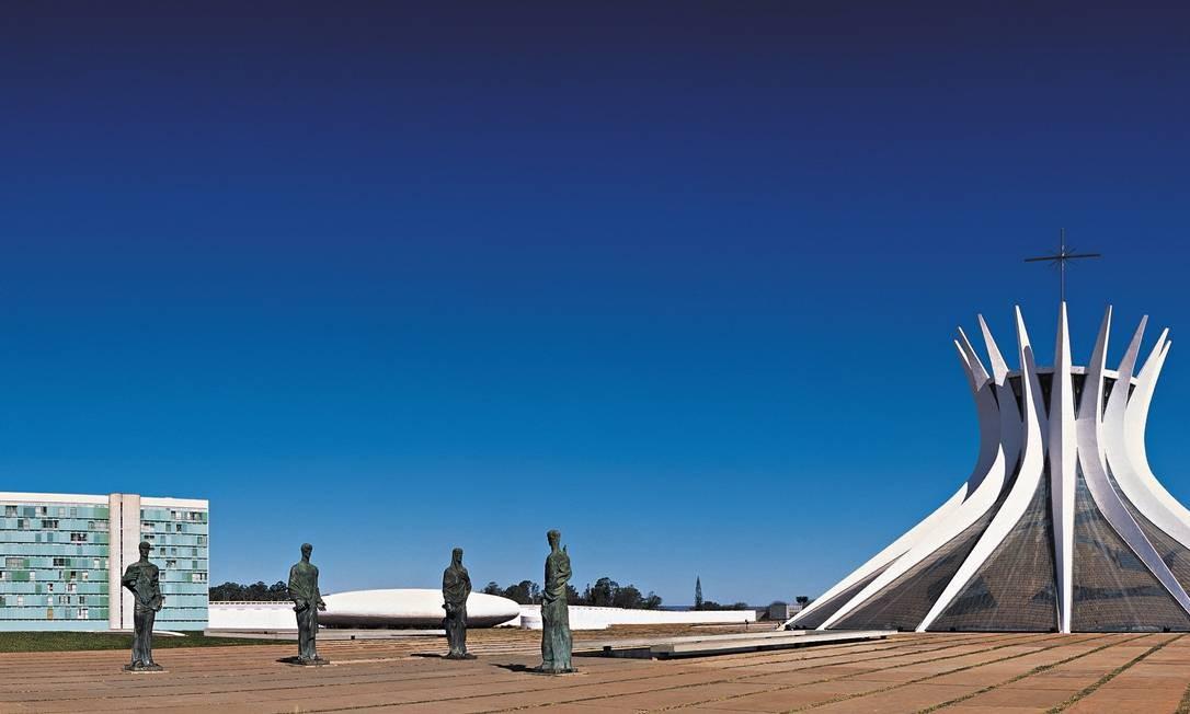 Catedral de Brasília Foto: Oscar Niemeyer 360 graus / Divulgação