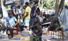 Operação da prefeitura acolhe usuários de crack no Parque União Foto: Pablo Jacob / O Globo