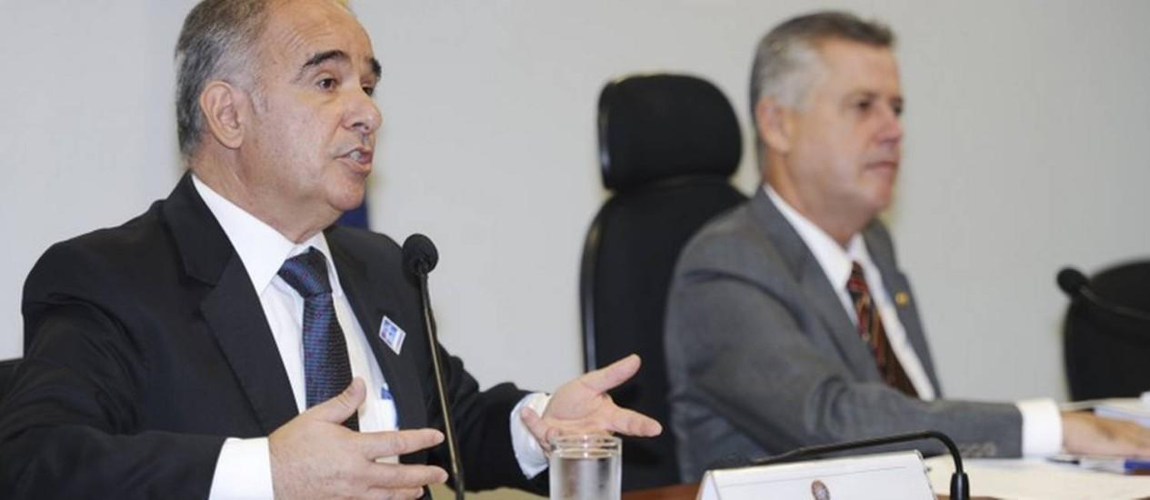 O diretor-presidente da Agência Nacional de Águas (ANA), Vicente Andreu Foto: Agência Senado