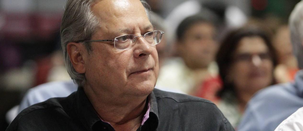 O ex ministro José Dirceu, condenado no processo do mensalão Foto: André Coelho / Arquivo O Globo