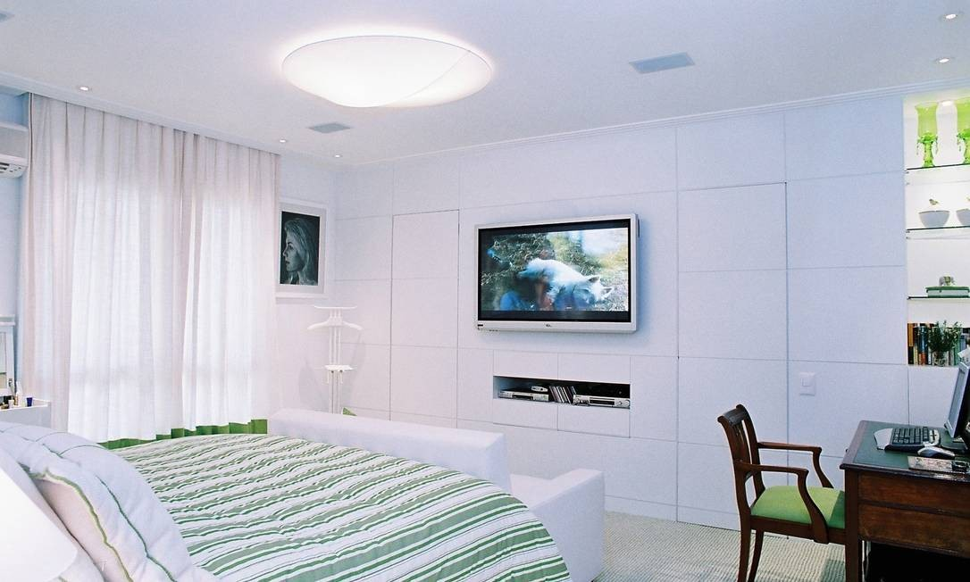 Uma TV no quarto foi associada a três vezes mais chances de risco cardiometabólico elevado Foto: Divulgação/11-05-2006