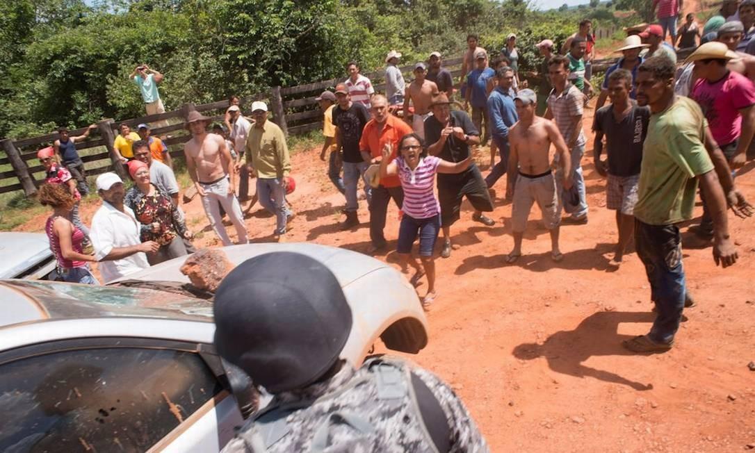 O plano de desocupação prevê primeiramente a retirada de grandes fazendeiros Foto: Agência da Notícia