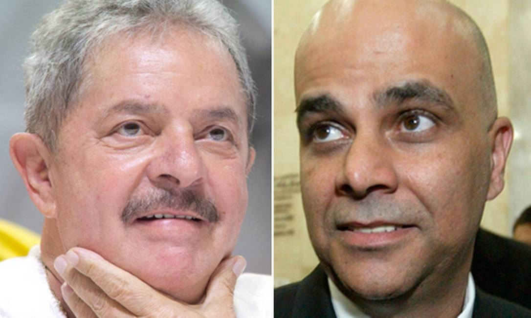 Marcos Valério afirma que Lula deu ok e recebeu dinheiro do mensalão para despesas pessoais Foto: Montagem sobre fotos de arquivo