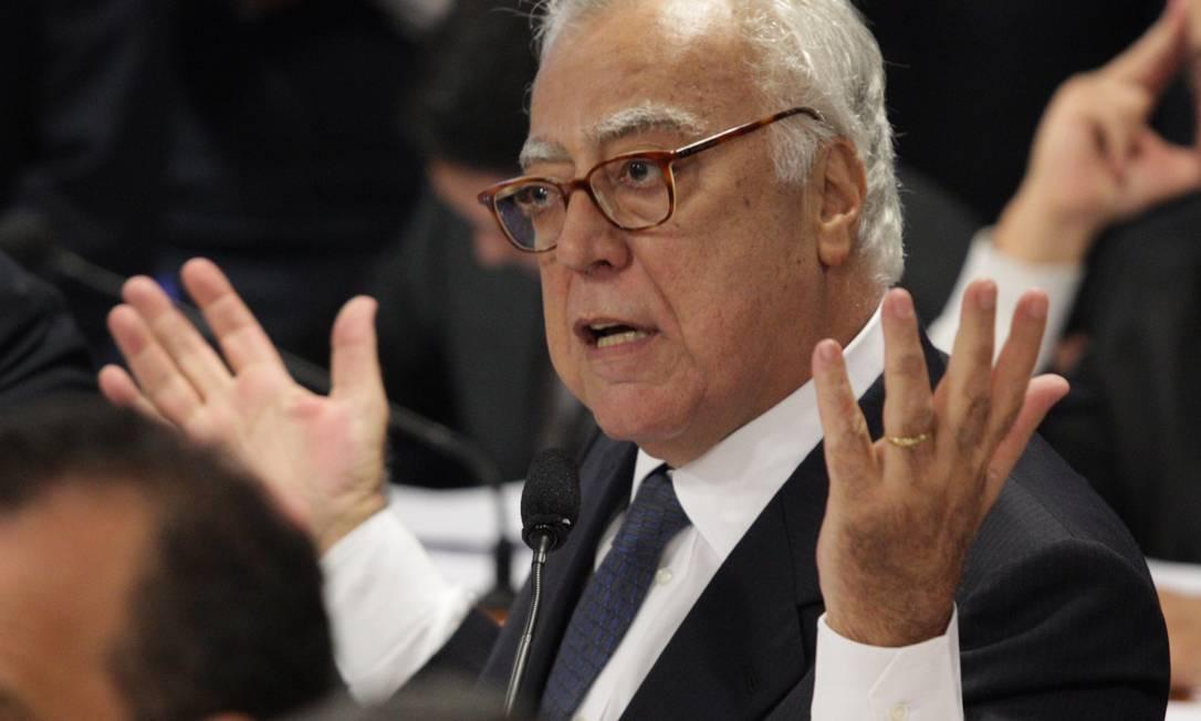 O deputado federal Miro Teixeira (PDT-RJ) Foto: O Globo / André Coelho