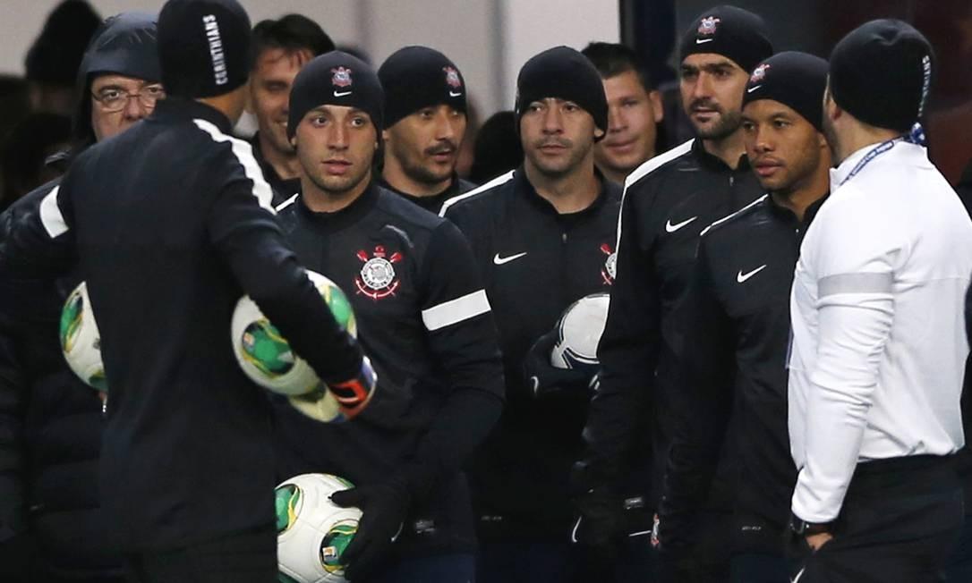 Corinthians em alerta máximo no frio japonês - Jornal O Globo 8342aab7e82