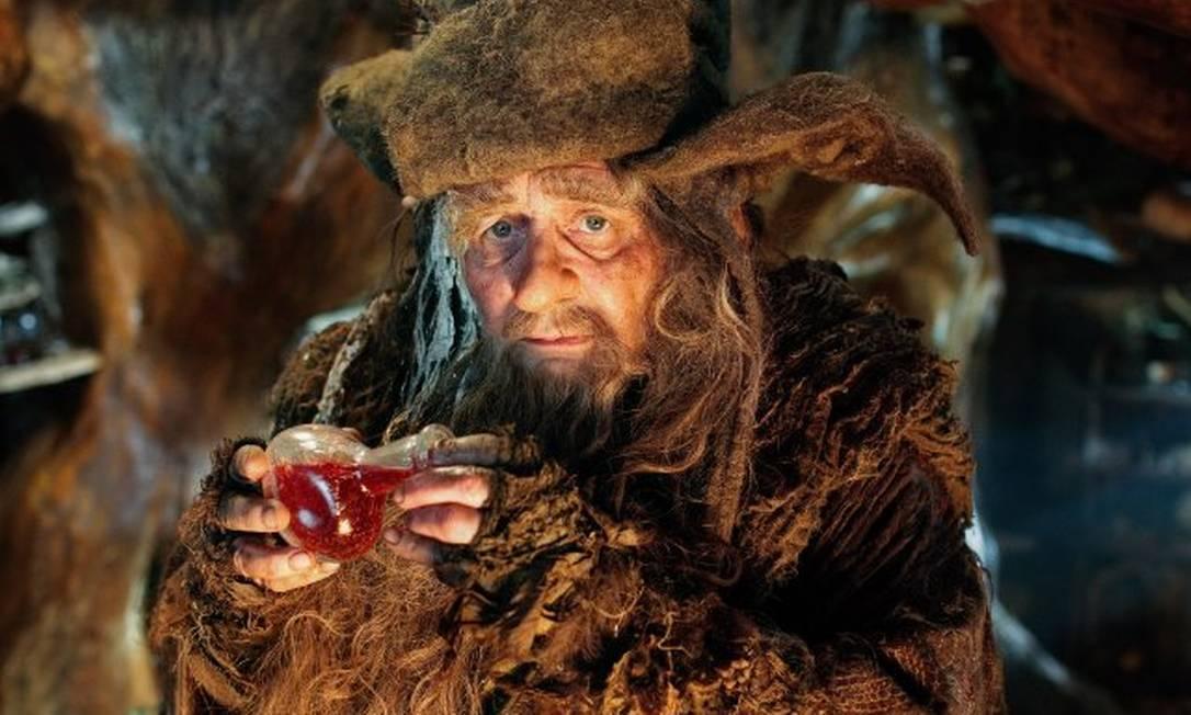 Radagast (Sylvester McCoy) é mais um dos magos enviados para enfrentar Sauron. Radagast é citado apenas uma vez no livro, mas Christopher Lee já revelou que o personagem tem maior participação nos filmes Reprodução