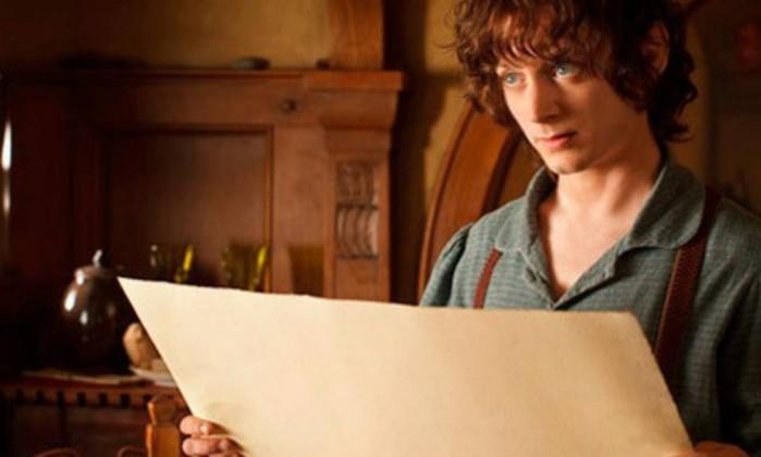 Além de Gandalf e Bilbo, outros personagens de 'O Senhor dos Anéis' retornam em 'O Hobbit'. Entre eles, Frodo Bolseiro (Elijah Wood), o sobrinho de Bilbo sobre quem cairá o fardo do Um Anel Reprodução
