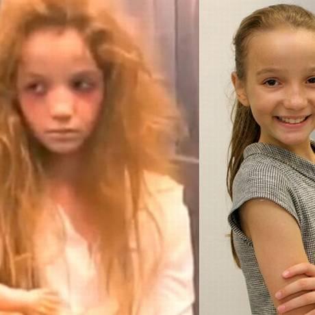 Anna Livya Padilha interpretou uma menina-fantasma em uma câmera escondida. Foto: Reprodução / Lourival Ribeiro