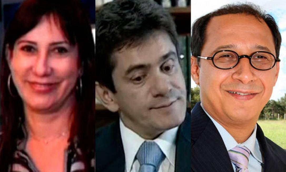 Os denunciados Rosemary Noronha, José Weber Holanda e Paulo Vieira Foto: O Globo