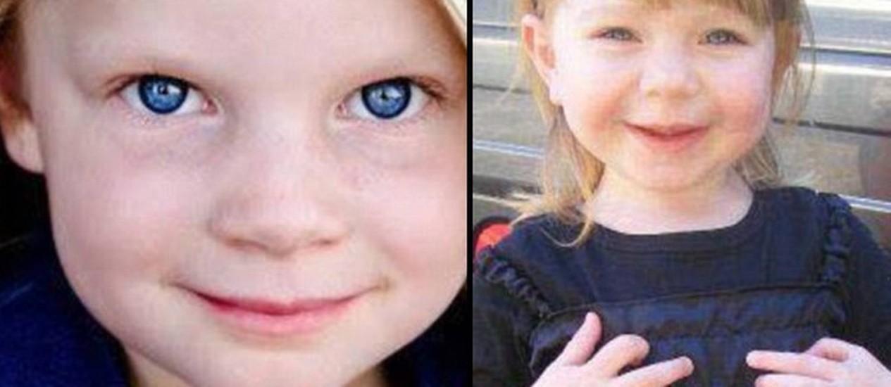 Alegres e sorridentes, Emilie Parker (à esquerda) e Olivia Engel foram mortas na sexta-feira Foto: Reprodução