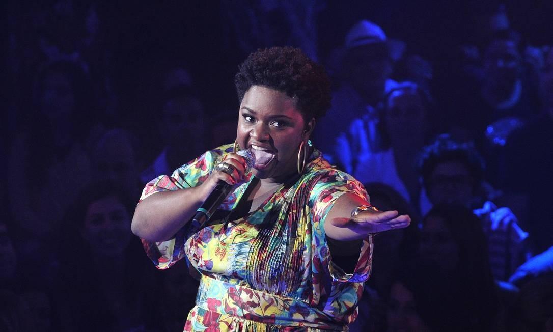 Ela ganhou 500 mil reais, contrato com a Universal Music e vai cantar no Réveillon, em Copacabana Foto: TV Globo/Alex Carvalho