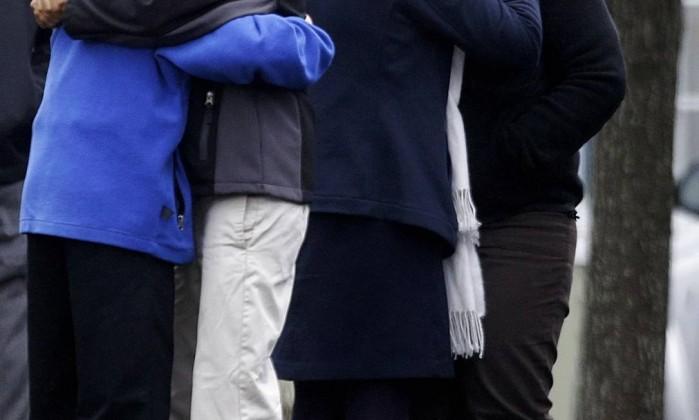 O menino Jack Pinto, de 6 anos, foi velado em Newtown, cidade onde ocorreu o massacre David Goldman / AP