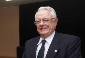 O ex-ministro do STF Carlos Velloso Foto: Rodrigo Clemente/O Tempo - 17/12/12