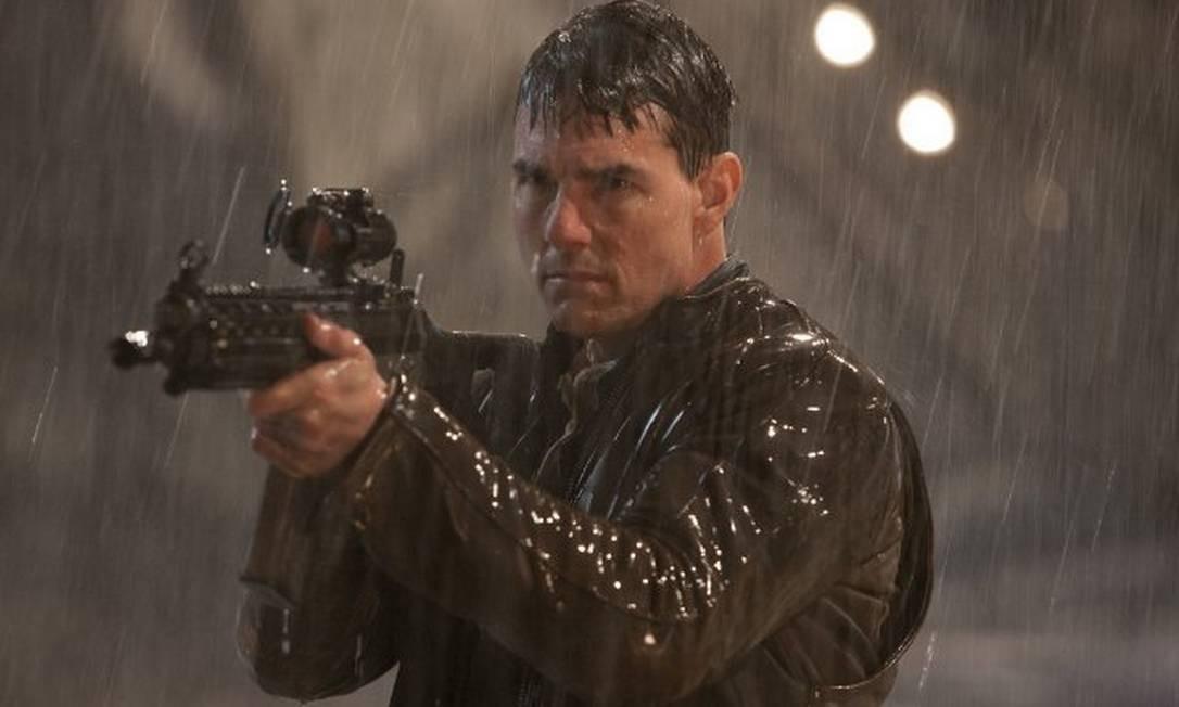Tom Cruise no filme 'Jack Reacher', que teve pré-estreia adiada nos EUA Foto: Divulgação