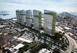 Imagem da nova Trump Tower, que será construída no Brasil Foto: Divulgação