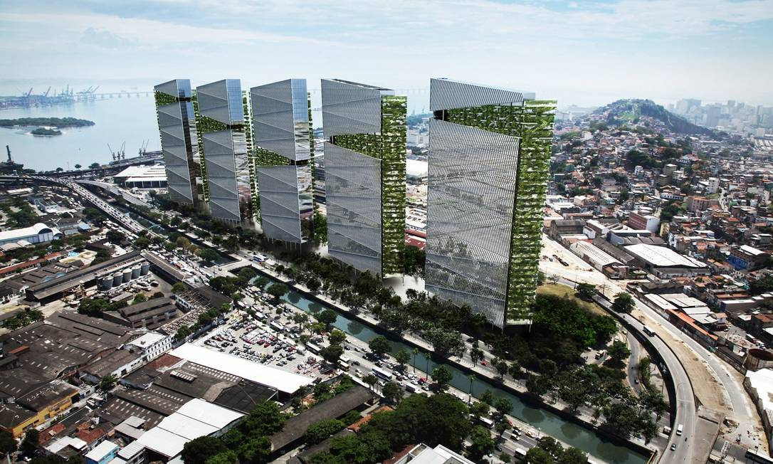 Imagem da nova Trump Tower, que será construída no Rio Foto: / Divulgação