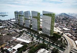 Imagem da nova Trump Tower, que será construída no Rio Foto: Divulgação