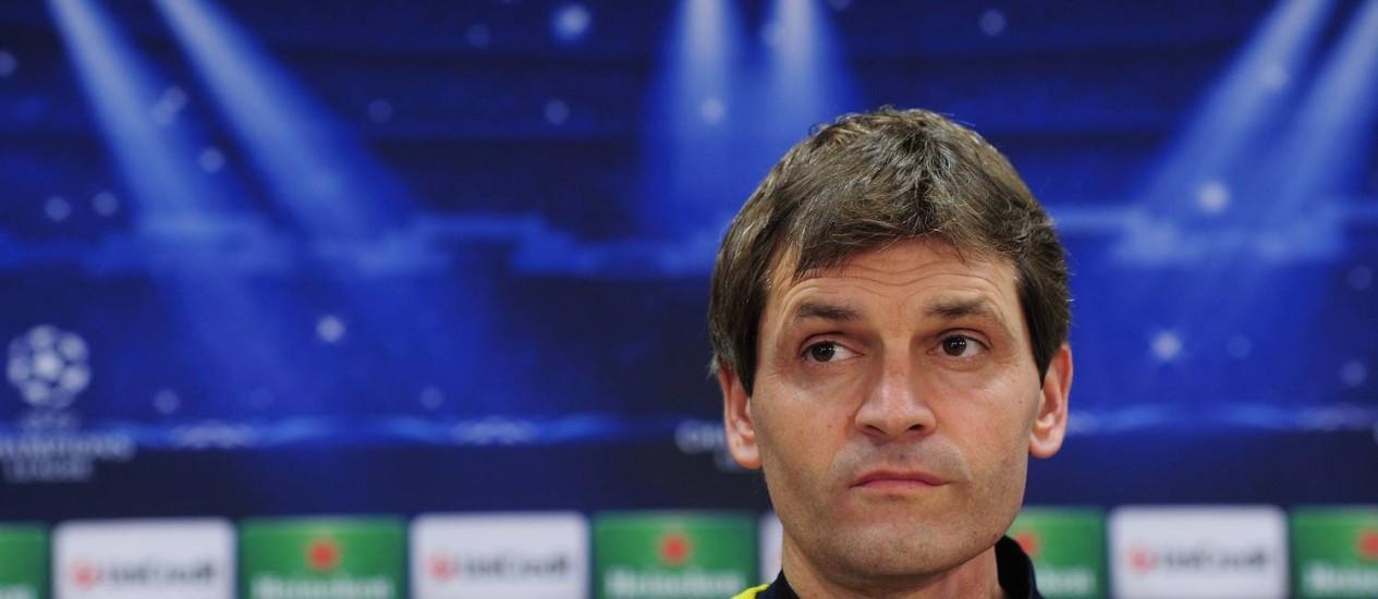 Tito Vilanova em foto de arquivo Foto: Josep Lago / AFP